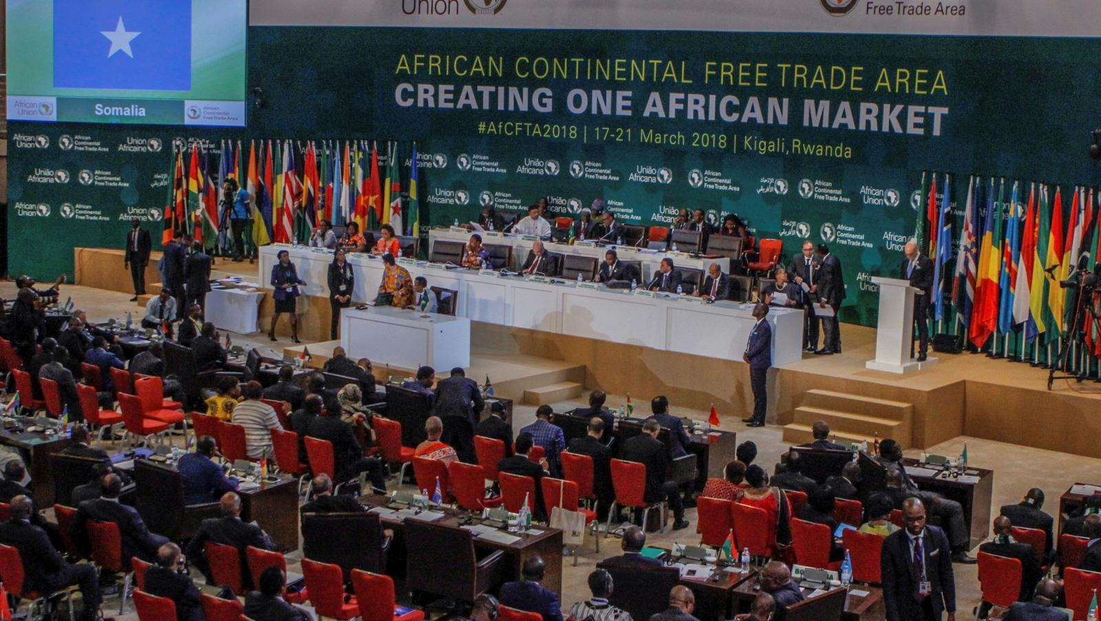 Africa Head of States AfCFTA - WIMS Talk